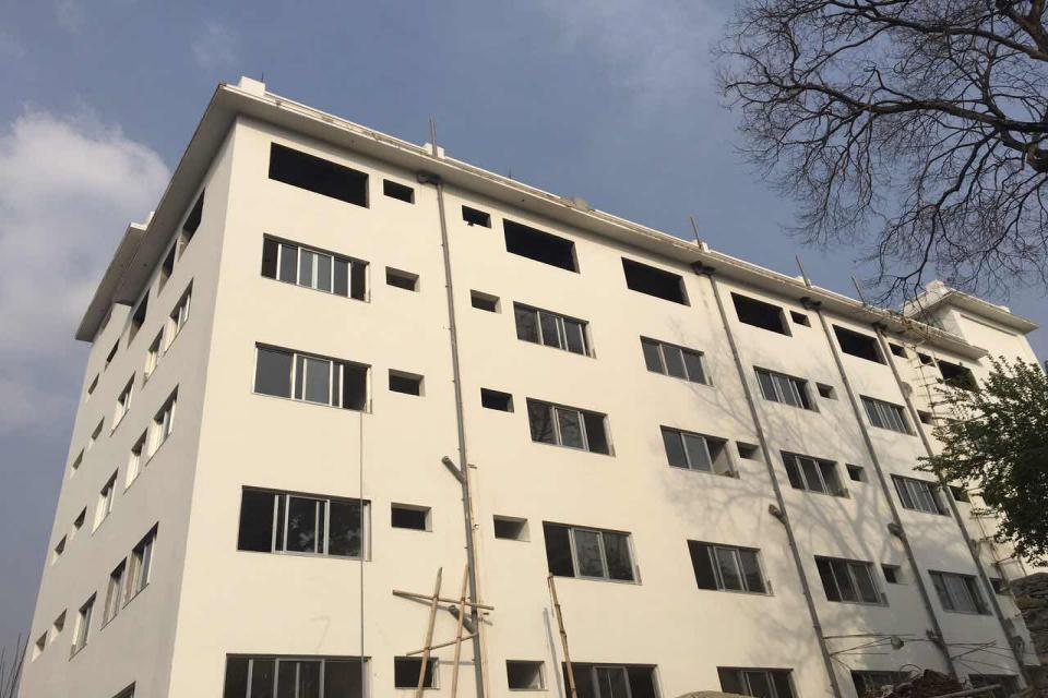 Finishing works of Ward Block of Nepal Police Hospital